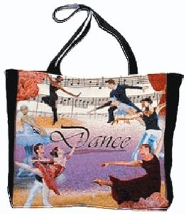 Dance Tapestry Printed Trendy and Unique Tote Ballet Bag