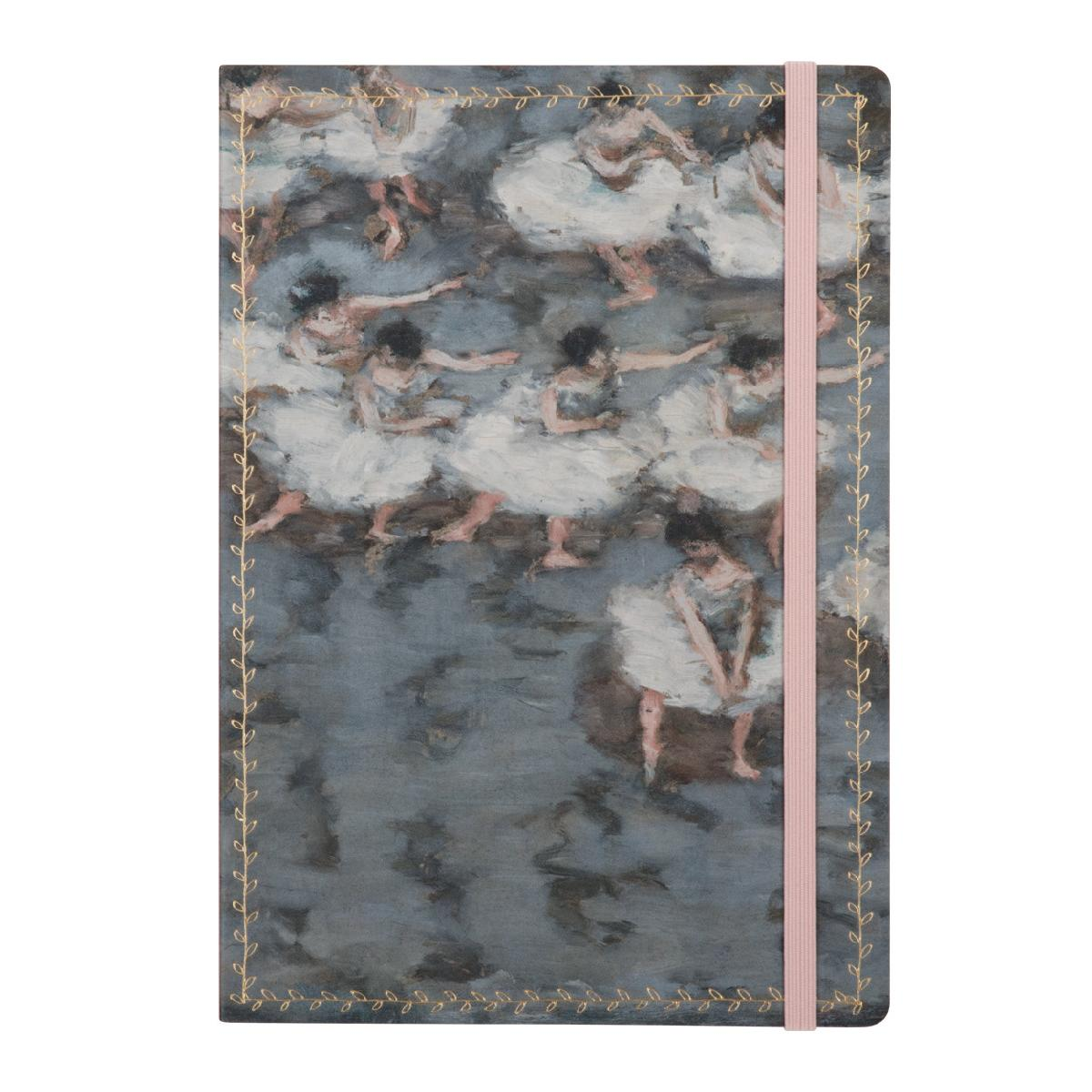 Bonnard Ballet Dancers Gilded Journal