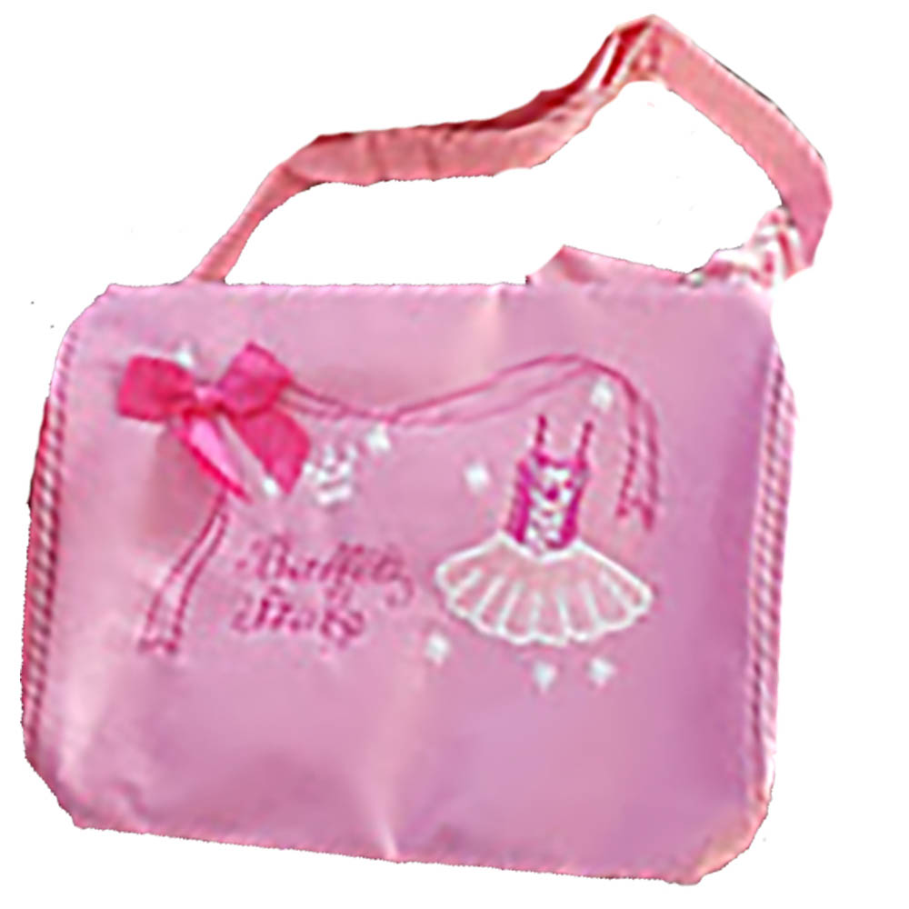 Pink Dance Duffel with Pink Bow