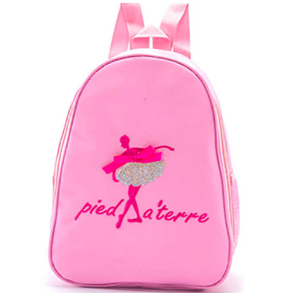 Pink Ballerina Backpack