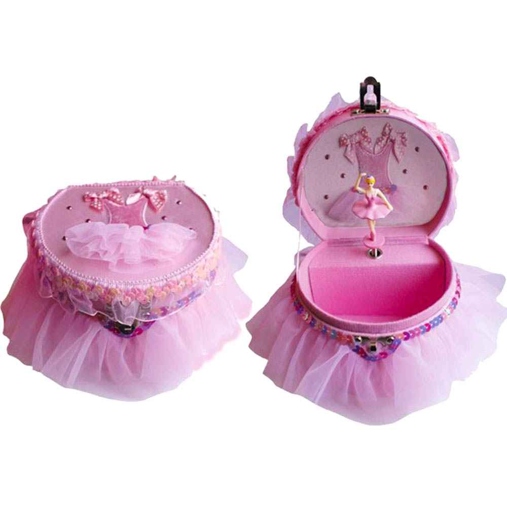 Ballet Dress Musical Jewelry Box