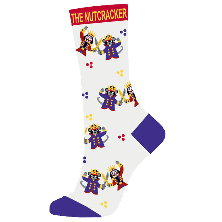 Nutcracker and Mouse King Fight Scene Light Weight Sock