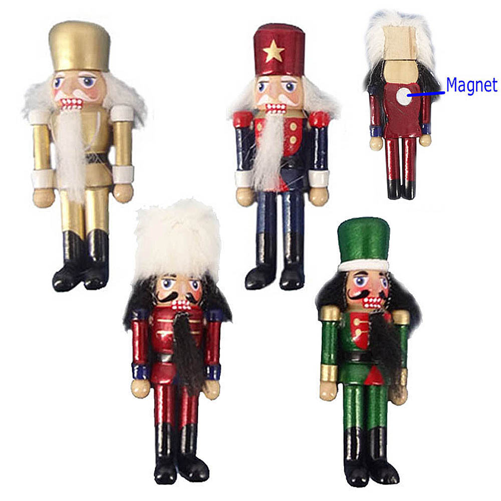 MAGN1-4 Nutcracker Magnets (One Dozen Assorted)