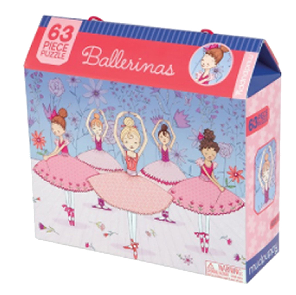 Ballet Class 63 PC Puzzle Box with Handle