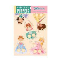 Ballerinas Finger Puppets Set of 5