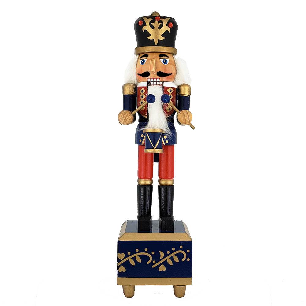 Traditional Soldier Nutcracker Suite March Music Box 12 inch