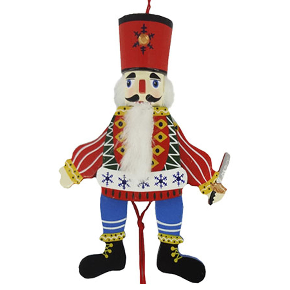 Russian Land of Sweets Pull Puppet Ornament 6 inch