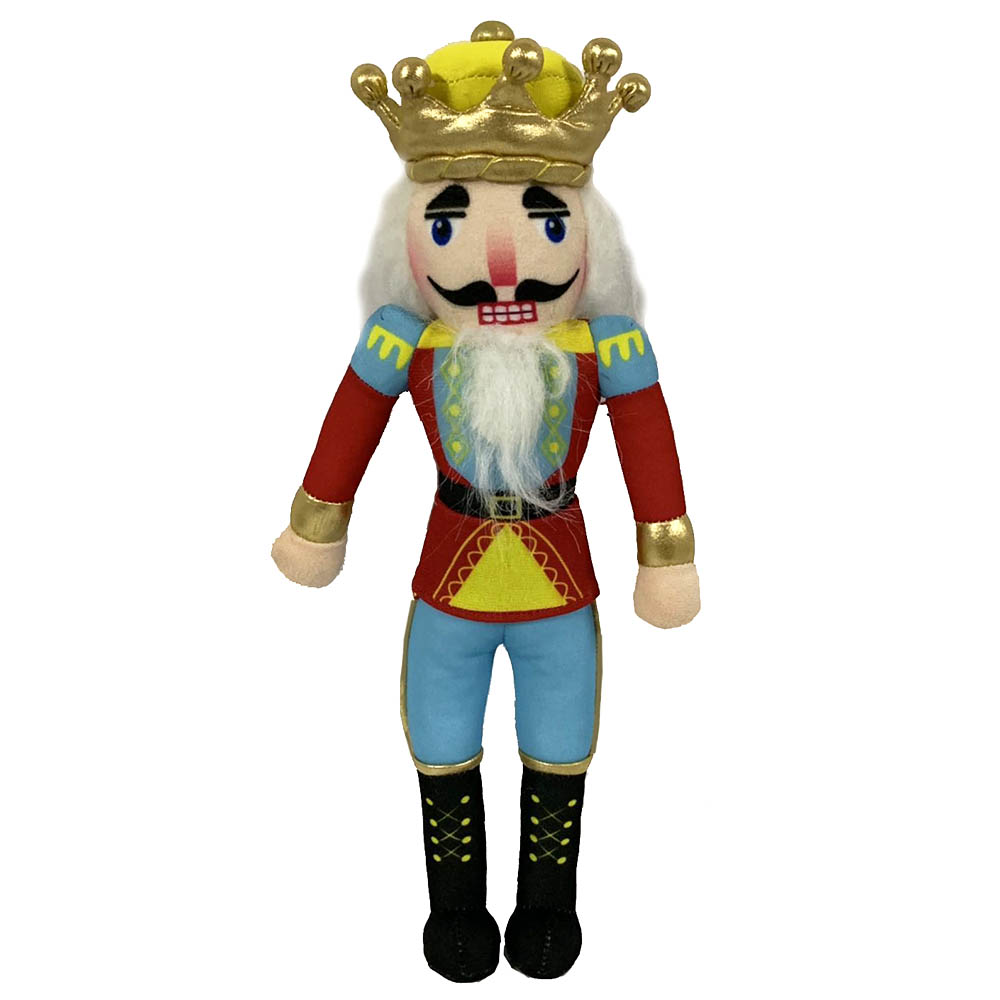 King Nutcracker with Gold and Yellow Crown 14 inch