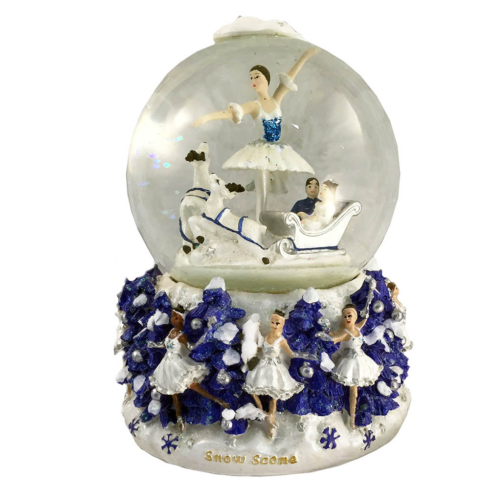 Musical Snow Scene Snow Globe The Nutcracker Music