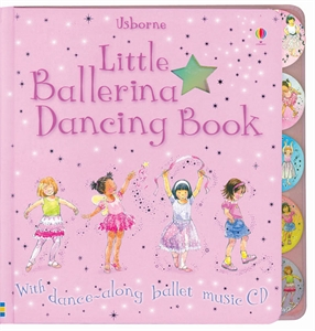 Little Ballerina Dancing CD Along with Dancing Book