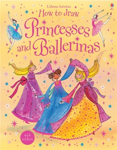 How to Draw Princesses and Ballerinas Project Book