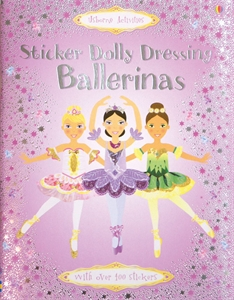Dolly Dressing Ballerina Dancing Colorful Sticker Book