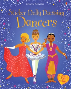 Dolly Dressing Dancers of Fun Dance Stickers Ballet Book
