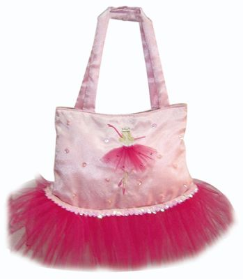 Large Pink Ballerina Tutu Fashion Bag