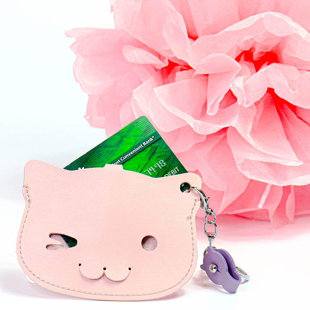 Cat Card Holder for Id
