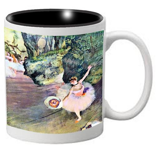 Nutcracker Ballet Mug DG04 Degas The Star of the Show