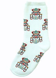 Multicolor Nutcracker All Over Heavy Weight Sock
