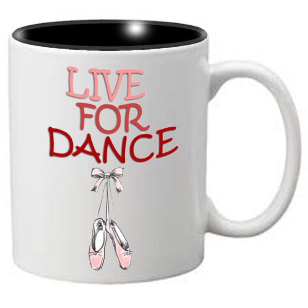 Nutcracker Ballet Mug MGDANC07 Live for Dance