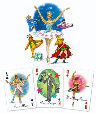 The Nutcracker Characters Playing Card Deck