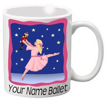 MG110: Nutcracker Ballet Mug - Dancer with Stars