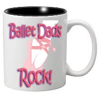 Nutcracker Ballet Mug - DadRock - Father's Day Mug with Dancer