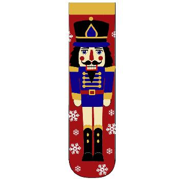 Nutcracker Red Blue and Gold Heavy Weight Socks