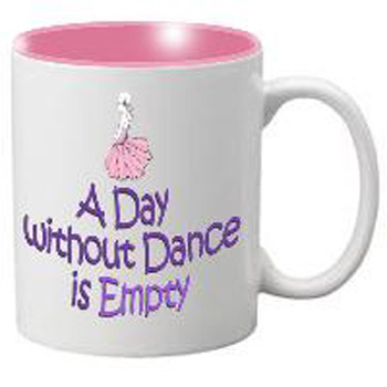 Nutcracker Ballet Mug  MGDANC04 Life is empty without dance