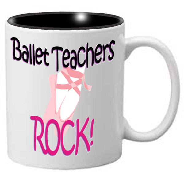 Nutcracker Ballet Mug MGDANC03 Ballet Teachers Rock
