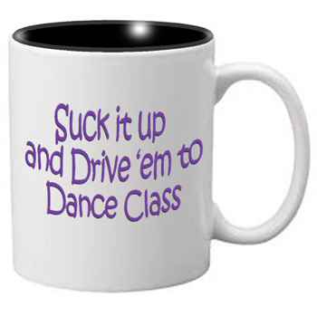 Nutcracker Ballet Mug MGDANC10 Suck it Up