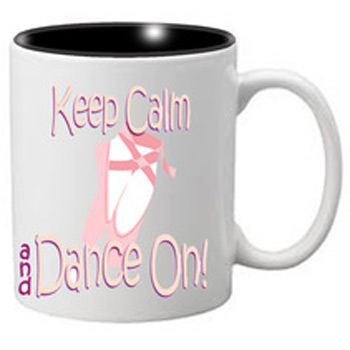 Nutcracker Ballet Mug  MGKC03 Keep Calm Ballet Shoes 03
