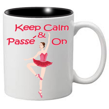 Nutcracker Ballet Mug  MGKC05 Keep Calm Passe 05